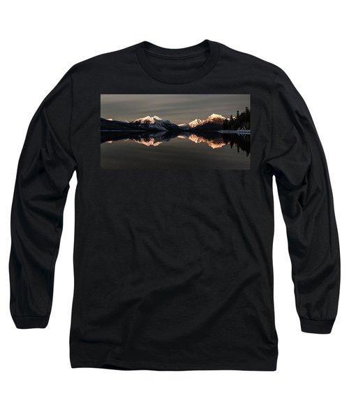 Peaks Long Sleeve T-Shirt by Aaron Aldrich