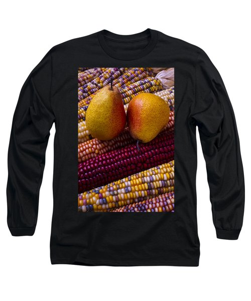 Pears And Indian Corn Long Sleeve T-Shirt