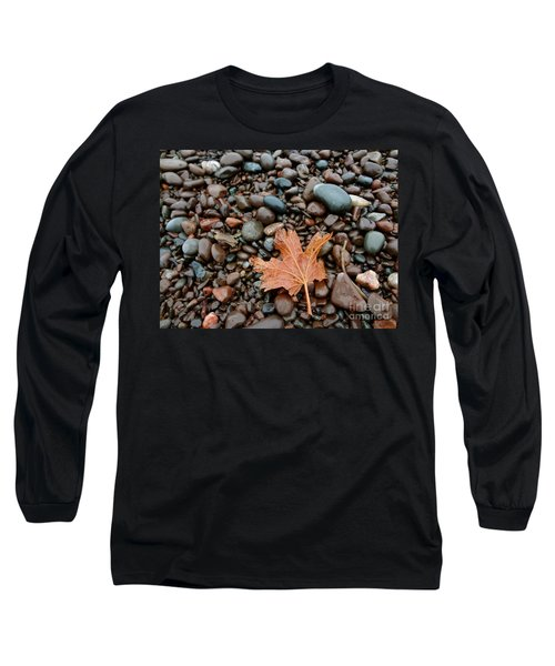 Pebbles Long Sleeve T-Shirt by Jacqueline Athmann