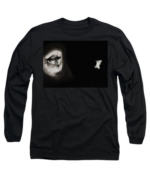 Peeping Tom - Psycho Long Sleeve T-Shirt by Fred Larucci