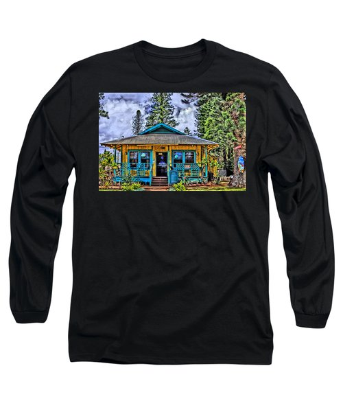 Pele's Lanai Island Hawaii Long Sleeve T-Shirt