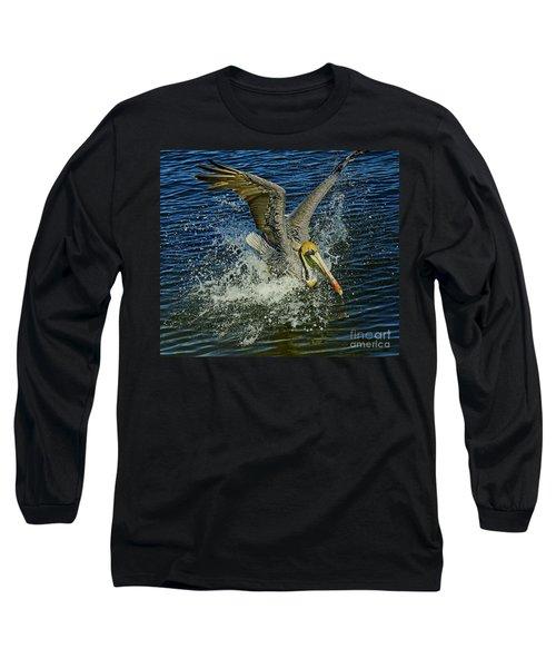 Pelican Splash Landing Long Sleeve T-Shirt