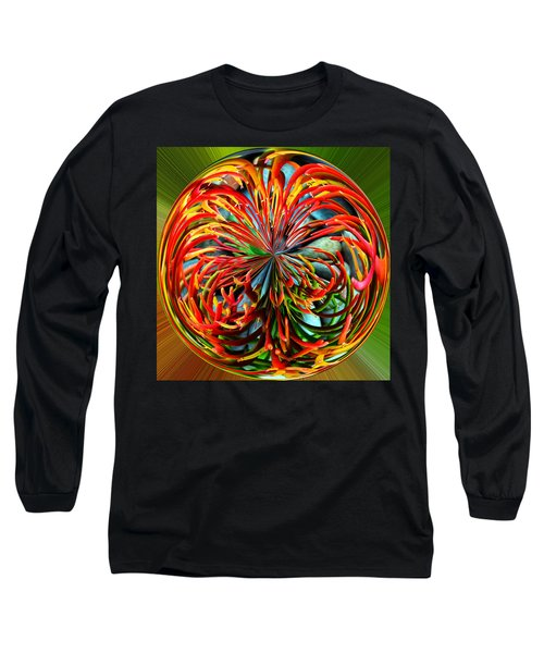 Pencil Tree Ball Long Sleeve T-Shirt