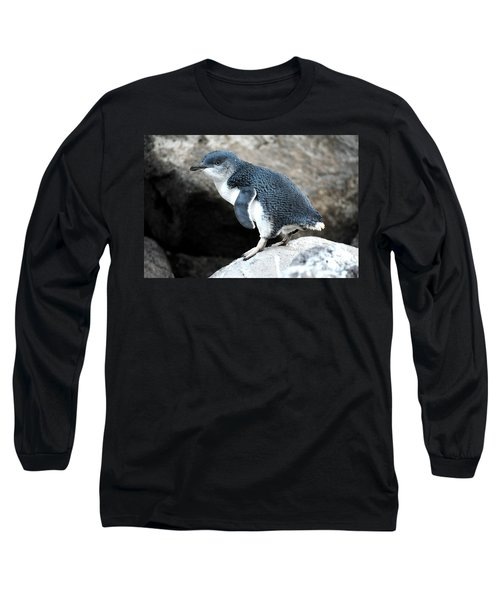 Long Sleeve T-Shirt featuring the photograph Penguin by Yew Kwang