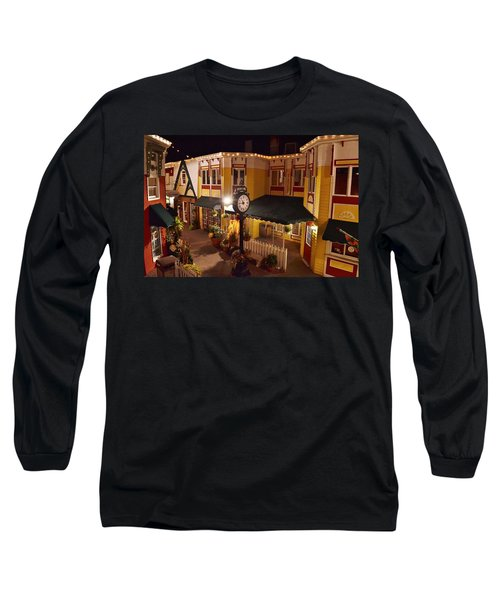 Long Sleeve T-Shirt featuring the photograph 2-penny Lane - Rehoboth Beach Delaware by Kim Bemis