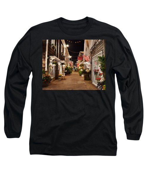 Penny Lane At Night - Rehoboth Beach Delaware Long Sleeve T-Shirt