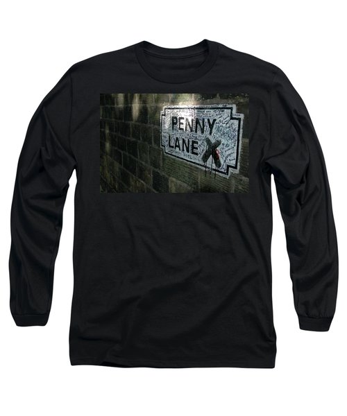 Penny Lane Long Sleeve T-Shirt by Jonah  Anderson