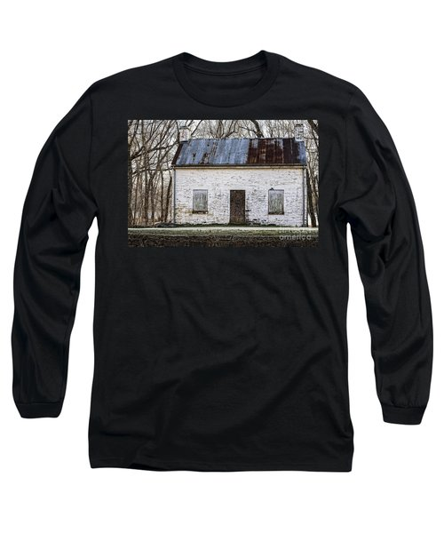 Pennyfield Lockhouse On The C And O Canal In Potomac Maryland Long Sleeve T-Shirt