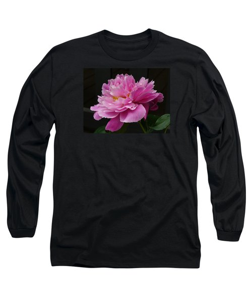 Peony Blossoms Long Sleeve T-Shirt by Lingfai Leung