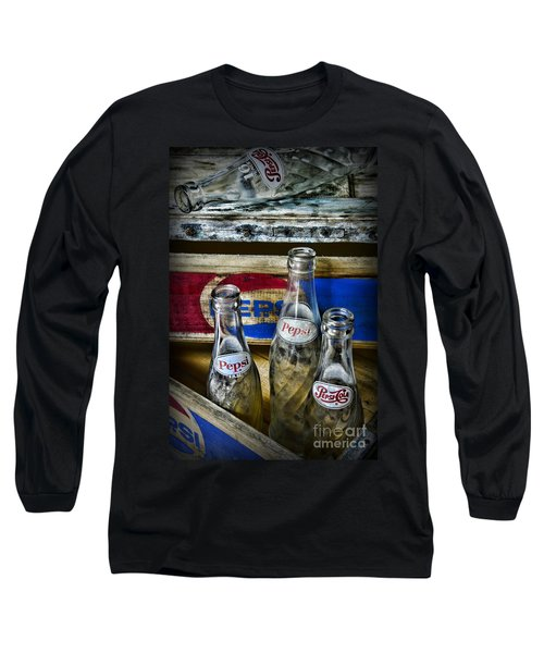 Pepsi Bottles And Crates Long Sleeve T-Shirt