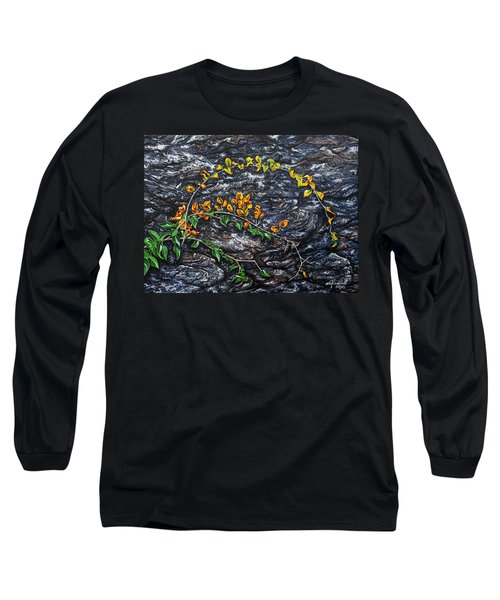 Long Sleeve T-Shirt featuring the painting Persistence by Craig T Burgwardt