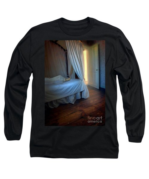 Person In Bed Long Sleeve T-Shirt