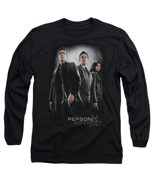 Person Of Interest - Cast Long Sleeve T-Shirt by Brand A