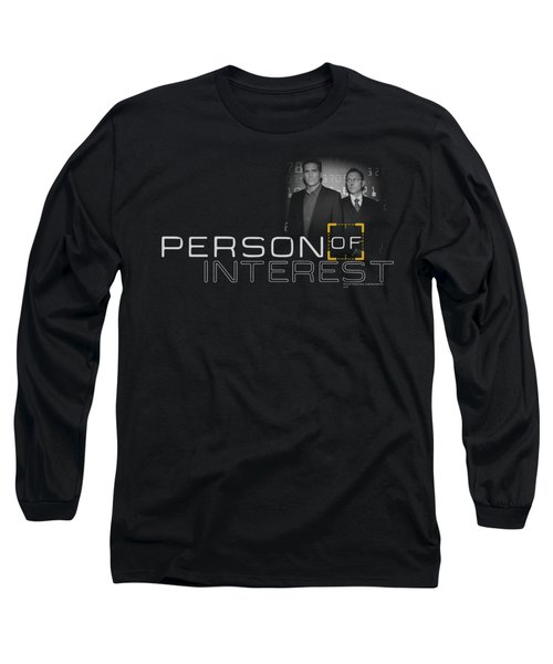 Person Of Interest - Logo Long Sleeve T-Shirt by Brand A