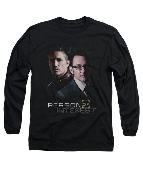 Person Of Interest - Persons Long Sleeve T-Shirt by Brand A