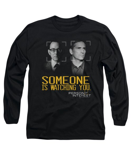 Person Of Interest - Someone Long Sleeve T-Shirt by Brand A