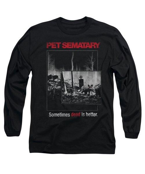 Pet Semetary - Cat Poster Long Sleeve T-Shirt