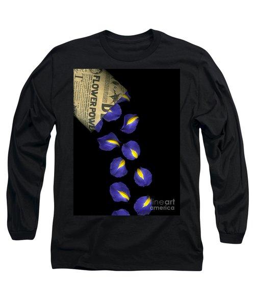 Petal Chips Long Sleeve T-Shirt by Christian Slanec
