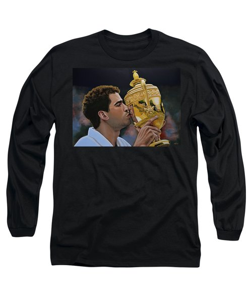 Pete Sampras Long Sleeve T-Shirt