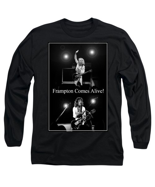 Peter Frampton Live Long Sleeve T-Shirt