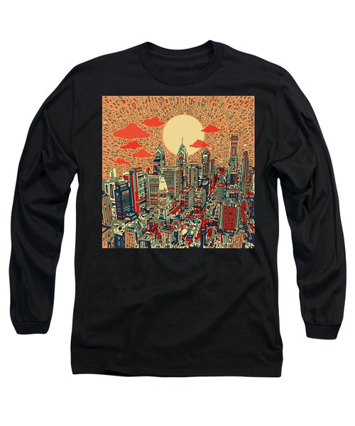 Philadelphia Dream Long Sleeve T-Shirt by Bekim Art