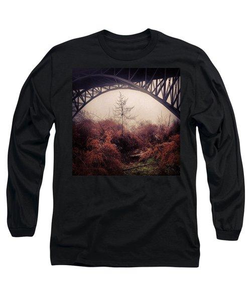 Philadelphia Foggy Day Long Sleeve T-Shirt