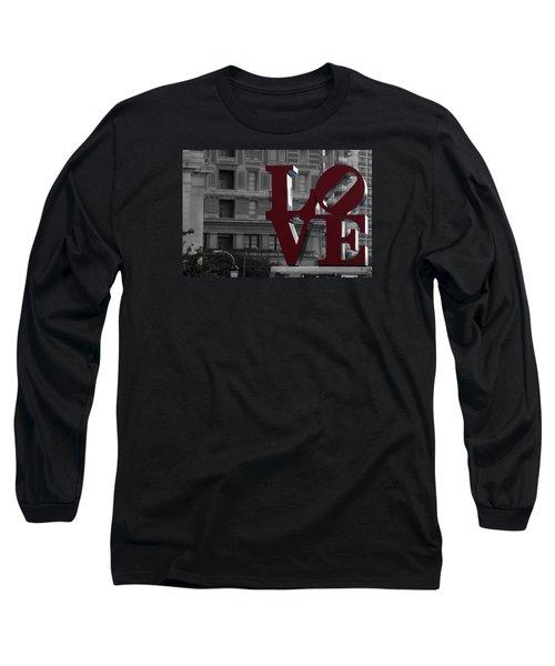 Philadelphia Love Long Sleeve T-Shirt