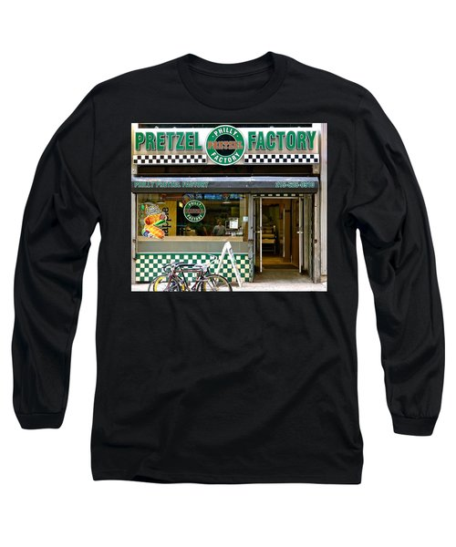 Philly Pretzel Factory Long Sleeve T-Shirt by Ira Shander