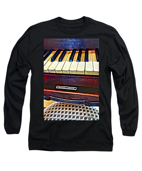 Piano And Stool Long Sleeve T-Shirt