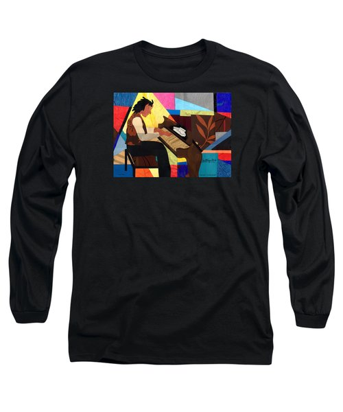 Piano Man Long Sleeve T-Shirt