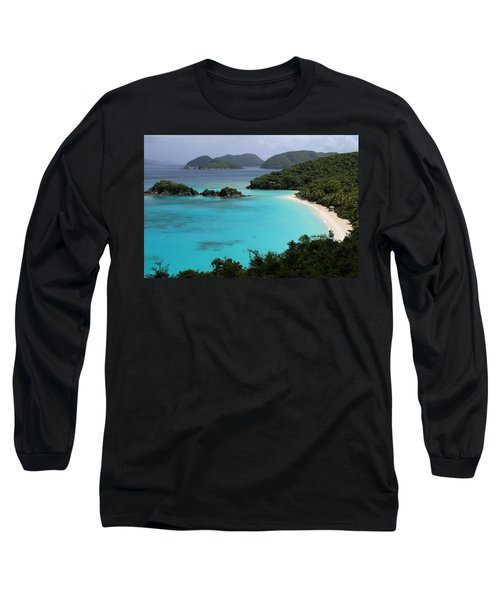 Piece Of Paradise Long Sleeve T-Shirt by Fiona Kennard