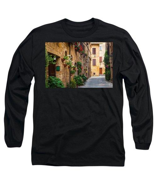 Pienza Street Long Sleeve T-Shirt