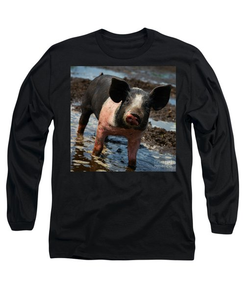 Pig In The Mud Long Sleeve T-Shirt
