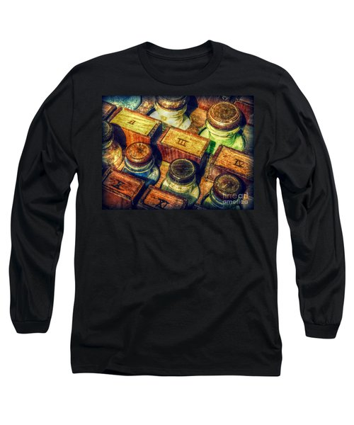 Pigments Long Sleeve T-Shirt by Valerie Reeves