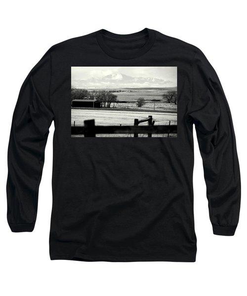 Pikes Peak From Ramah Long Sleeve T-Shirt