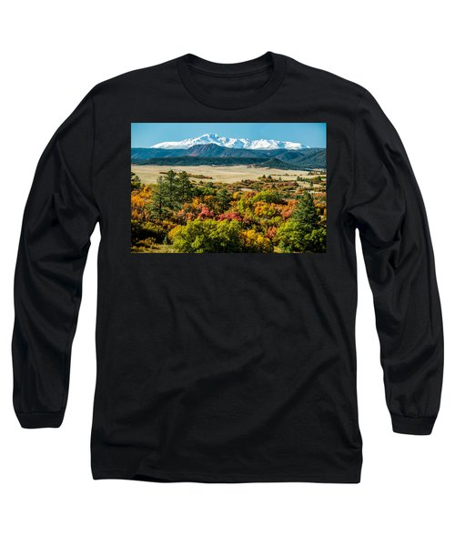 Pikes Peak Over Scrub Oak Long Sleeve T-Shirt