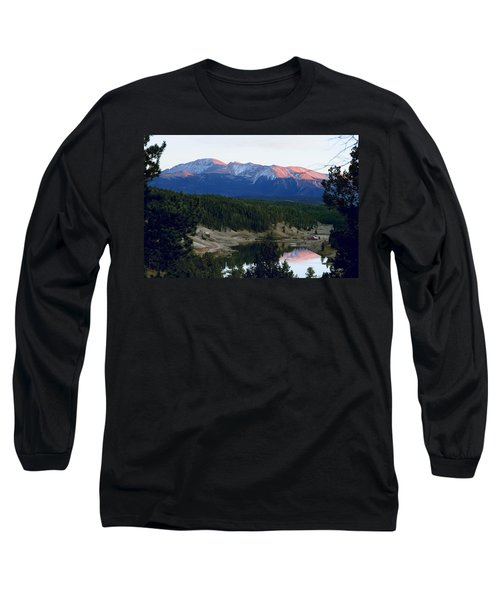 Pikes Peak Sunset Long Sleeve T-Shirt