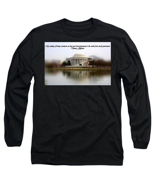 Pillars Of Strength Long Sleeve T-Shirt