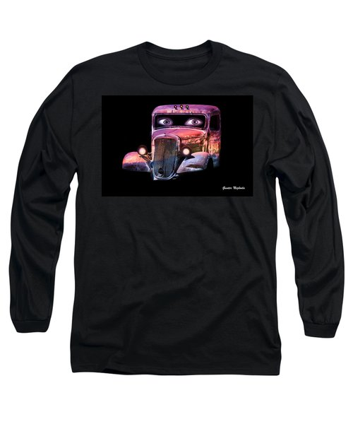 Pin Up Cars - #3 Long Sleeve T-Shirt