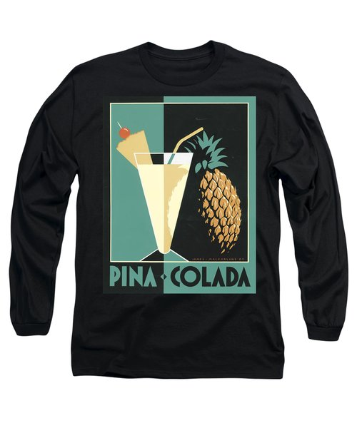 Pina Colada Long Sleeve T-Shirt