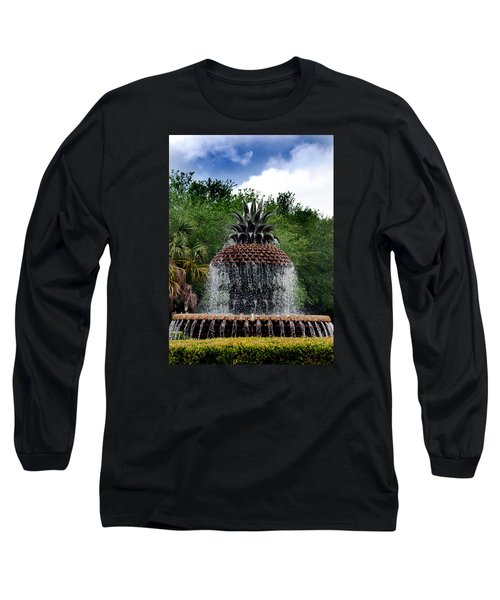 Pineapple Fountain Long Sleeve T-Shirt