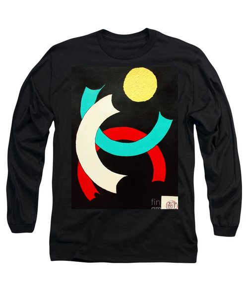 Pineapple Moon Long Sleeve T-Shirt by Roberto Prusso
