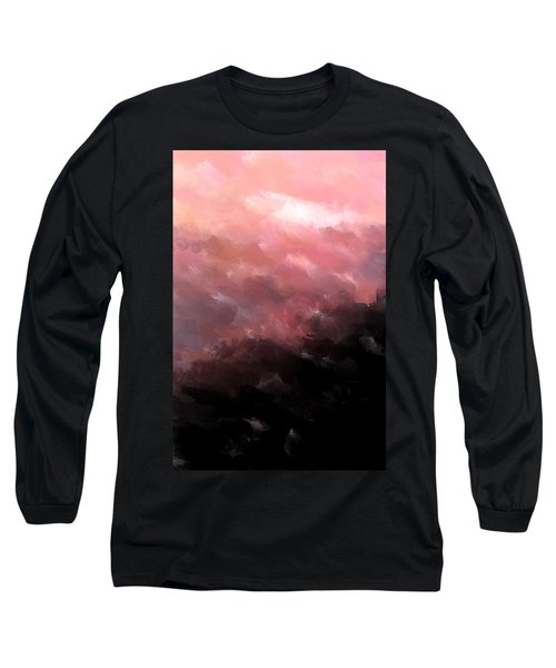 Pink Clouds Long Sleeve T-Shirt