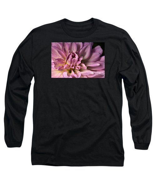 Pink Dahlia's Dream Long Sleeve T-Shirt by Joy Watson