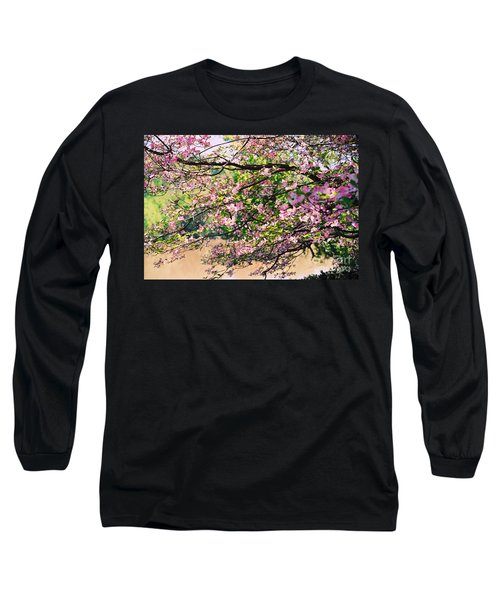 Pink Dogwood I Long Sleeve T-Shirt