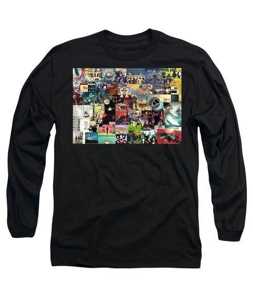 Pink Floyd Collage II Long Sleeve T-Shirt
