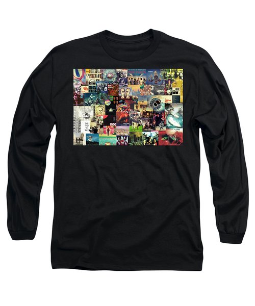 Pink Floyd Collage II Long Sleeve T-Shirt