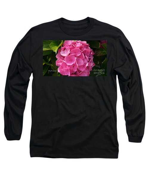Long Sleeve T-Shirt featuring the photograph Blushing Rose by Jeannie Rhode