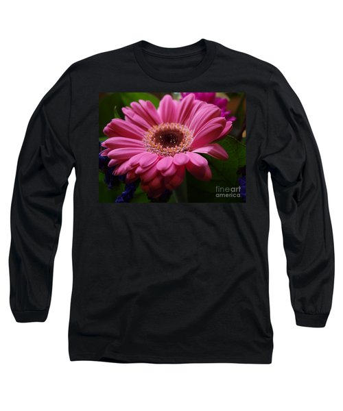 Pink Petal Explosion Long Sleeve T-Shirt