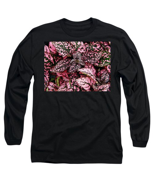 Pink - Plant - Petals Long Sleeve T-Shirt